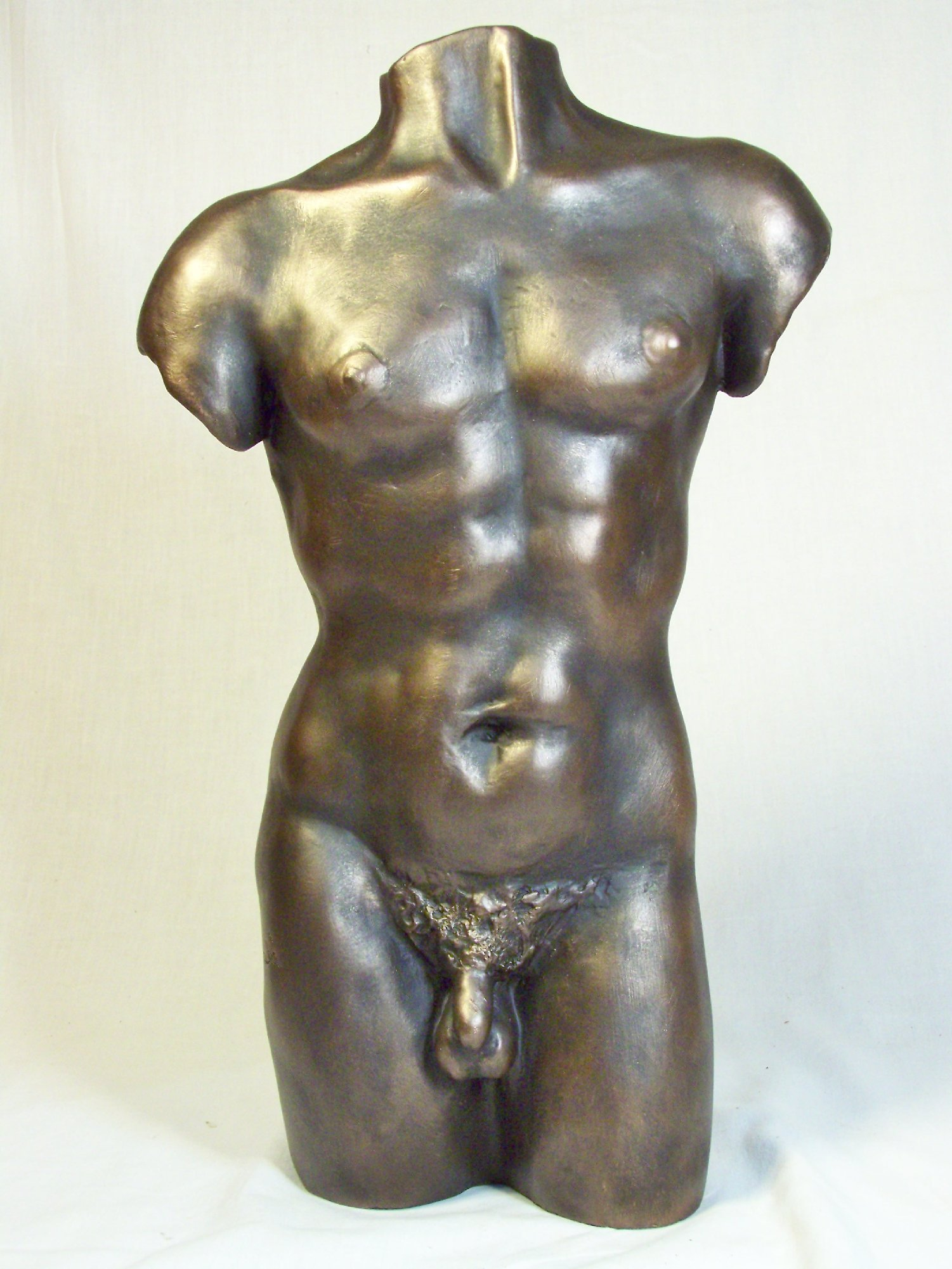 Sculpture of a man torso