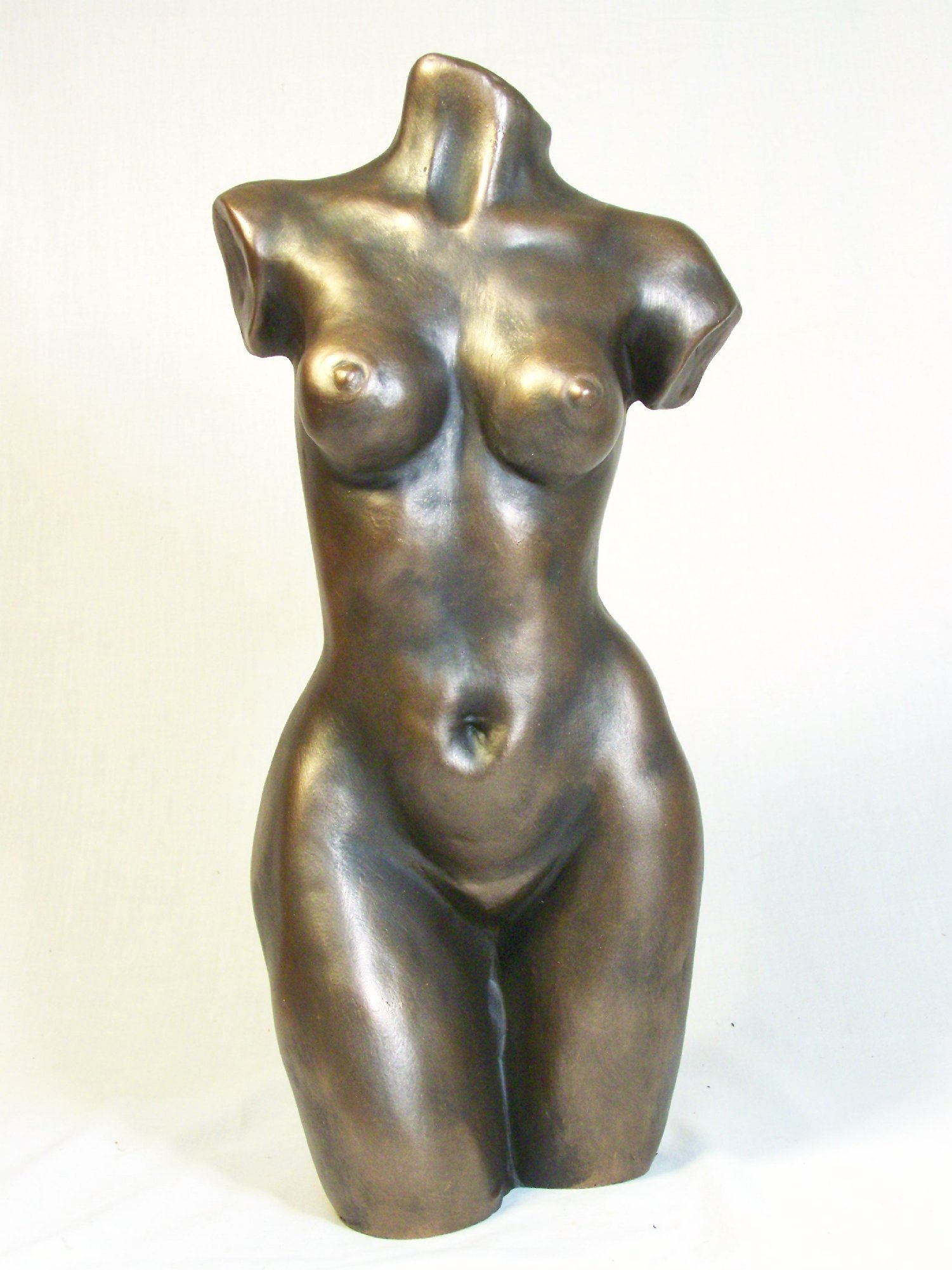 Sculpture of a woman torso
