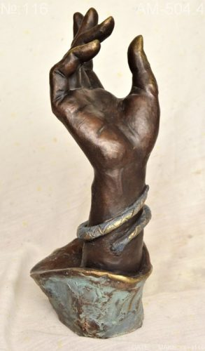 Hand with a bracelet