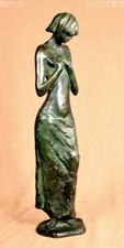 Nice sculpture of woman with nude torso